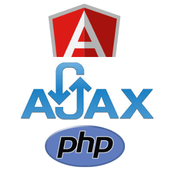 AJAX application with Angular and PHP